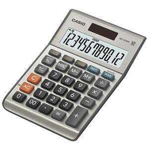 Value Casio MS-120BM 12-digit Cost/Sell/Margin/Tax Desktop Calculator (Silver)