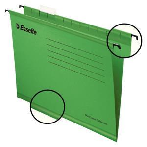 Value Esselte Classic (Foolscap) Suspension File (Green) 1 x Pack of 25 Suspensi