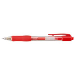 Value Gel Rollerball Pen Retractable Red (Pack 10)
