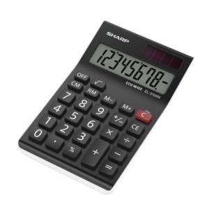 ValueSharp EL310ANWH Desktop Calculator 8 Digit Angled Display