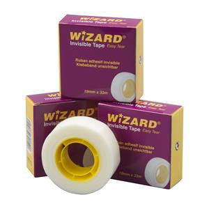 Value (Clear) Invisible Tape (19mm x 33m) Single