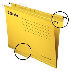 Value Esselte Classic (Foolscap) Suspension File (Yellow) 1 x Pack of 25