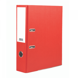 Value A4 Lever Arch Red (Single)