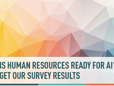 The 2019 HR Artificial Intelligence Survey Results have been released