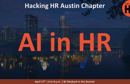 Come meet us at Hacking HR Austin!