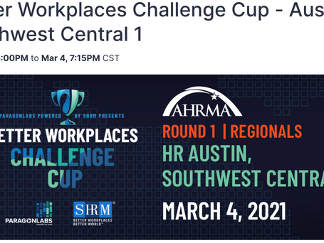 "MeBeBot to Participate in Paragon Lab's ""Better Workplace Challenge Cup"", powered by SHRM"