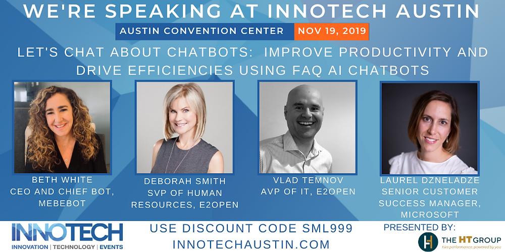 InnoTech Austin an Women in Technology Chatbot Panel