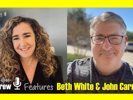 """Listen or watch MeBeBot's CEO, Beth White and CTO, John Carney discuss AI on the """"Rex Andrew Show"""""""
