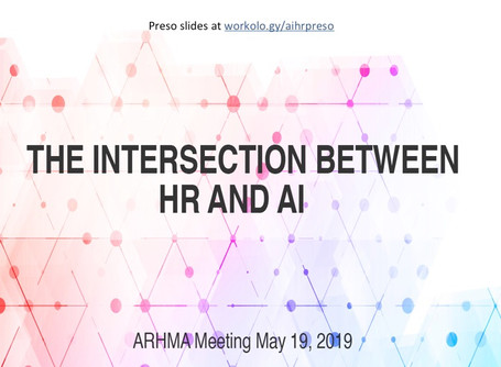 The Intersection Between HR and AI