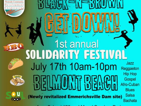 July 17: 1st Annual Solidarity Festival