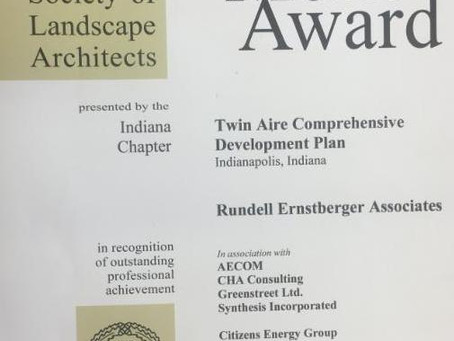 Twin Aire Plan Recognized by American Society of Landscape Architects