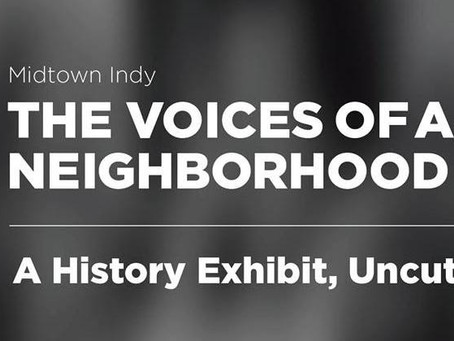 The Voices of a Neighborhood: A History Exhibit, Uncut Starts Oct. 4