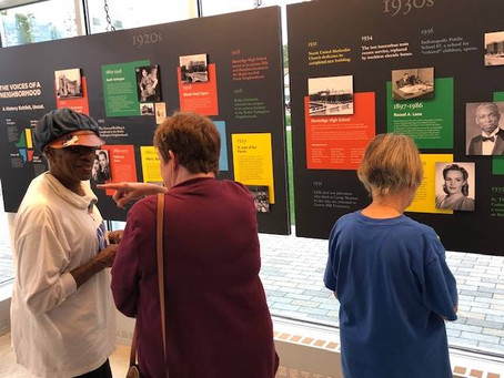 Voices of a Neighborhood Exhibit