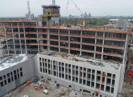 Construction Continues on Criminal Justice Center in Twin Aire