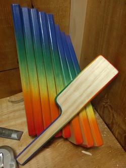 Rainbow Paddles