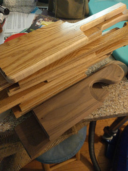 Routed paddles