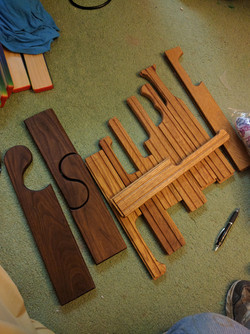 Tung oil paddles