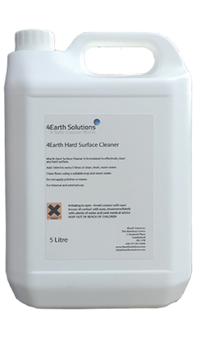 4Earth Hard Surface Cleaner (Concentrate) - 5 Litre