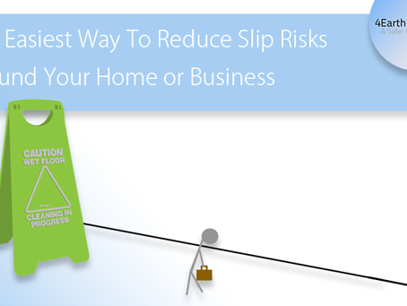 The Easiest Way To Reduce Slip Risks Around Your Home or Business