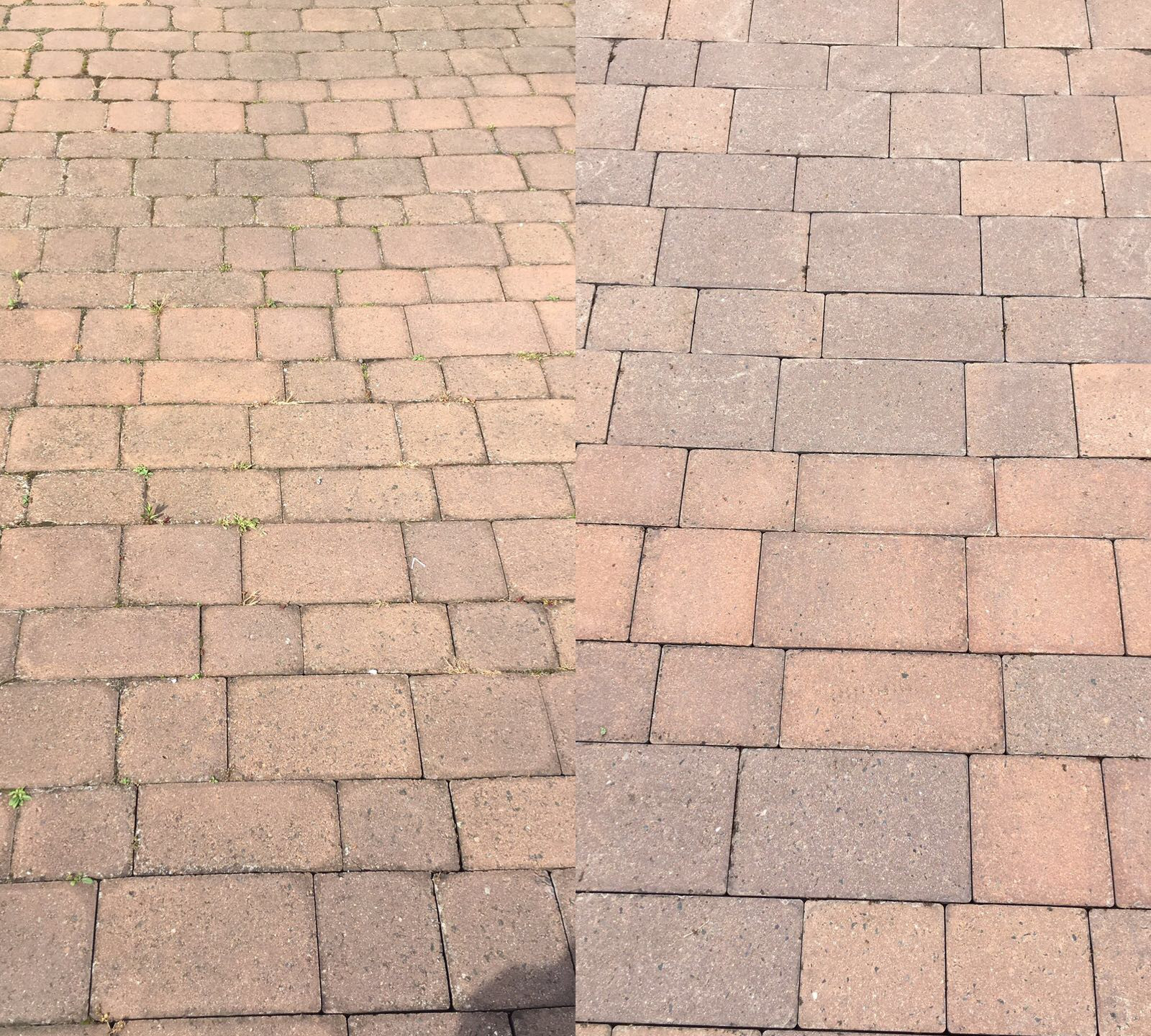 Block Paving Before/After