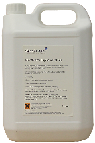 4Earth Anti Slip Mineral Tile - 5 Litre