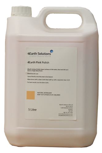 4Earth Pink Polish - 5 Litre