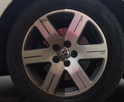 The Key to Sparkling Alloy Wheels