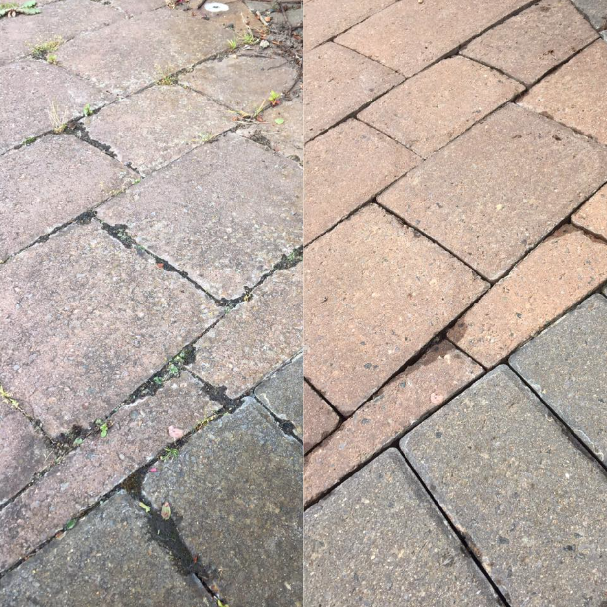 Blocks Before/After Clean