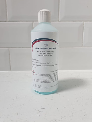 4Earth Alcohol Hand Gel - 500ml