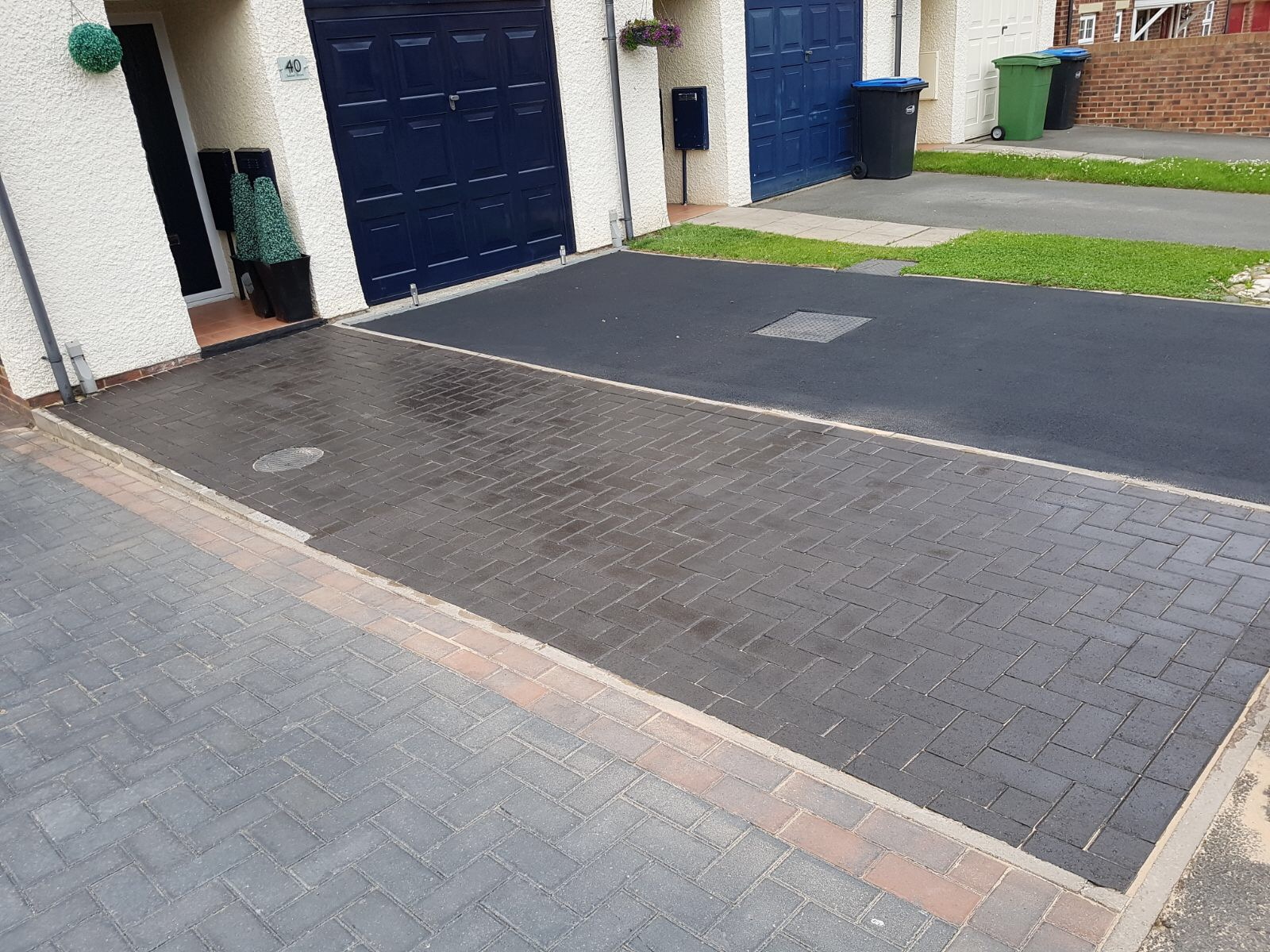 Block Paving/Tarmac Completed
