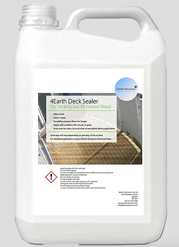 4Earth Deck Sealer - 5 Litre