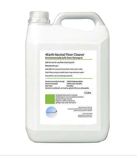 4Earth Neutral Floor Cleaner - 5 Litre