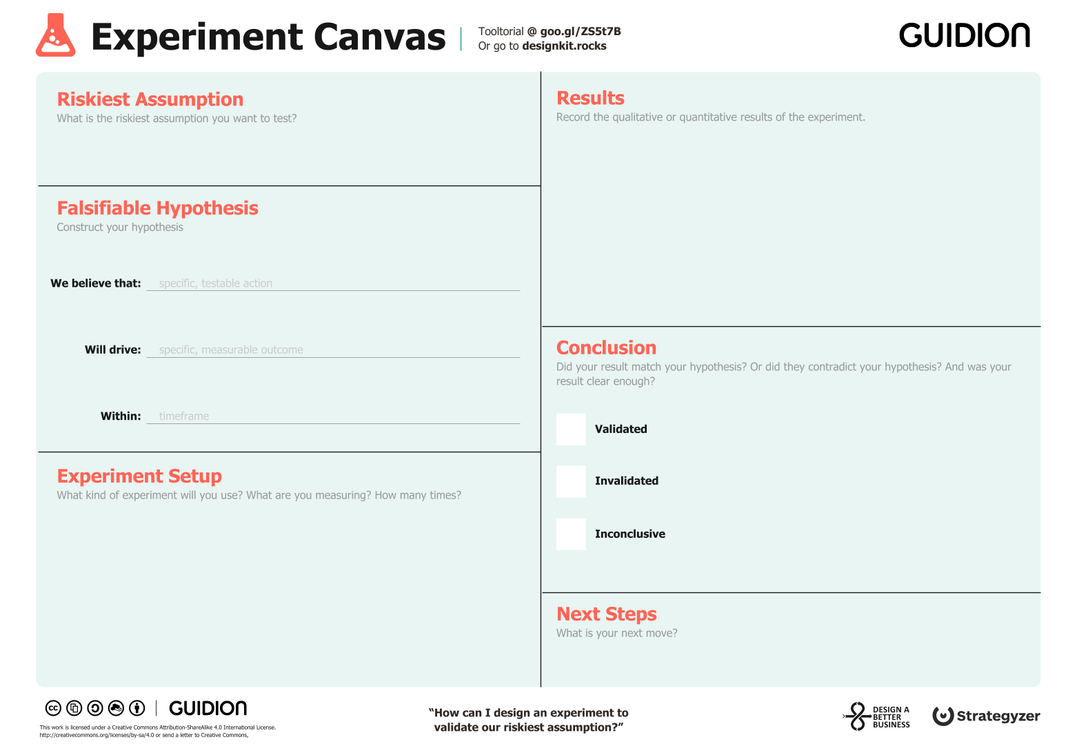 Experiment Canvas