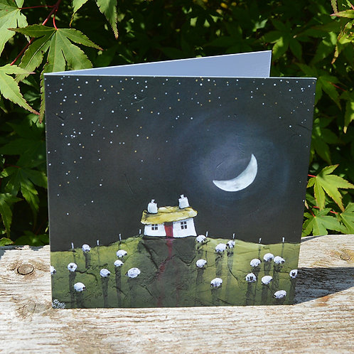 Hanging Moon - 6 Cards