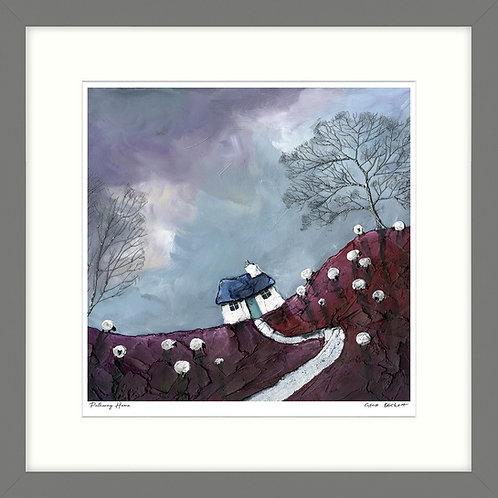Pathway Home - Framed Print