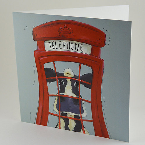 Chatty Cow - Card