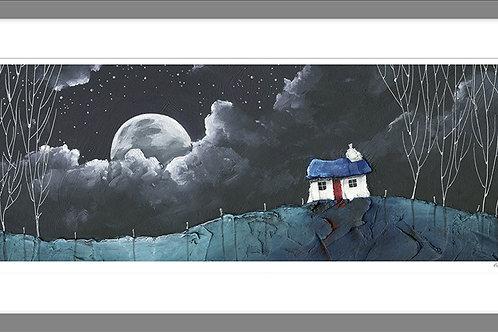 Moonbreak - Framed Print