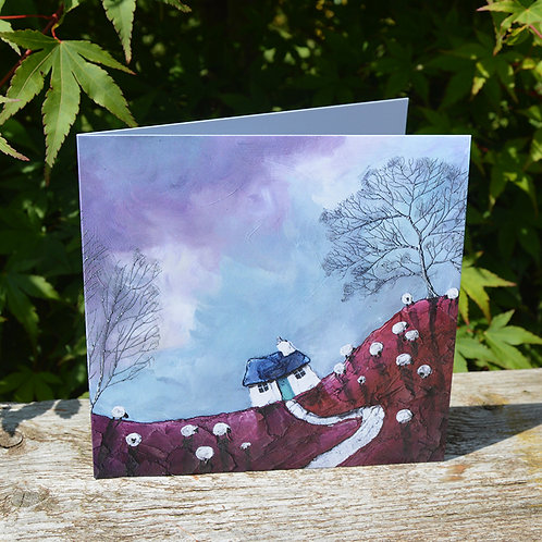 Flocking Clouds - Card