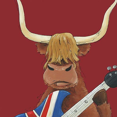 Highland Moosic - Print