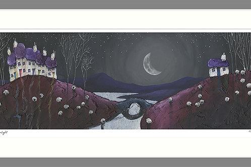 Magical Moonlight - Framed Print
