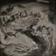 nudes, old masters, rabbit ,surreal landscape