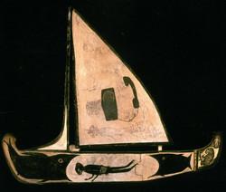 Ship With Smoking Beaver