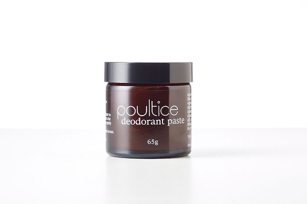 Poultice all natural deodorant, made in Melbourne Australia. Aluminium free.