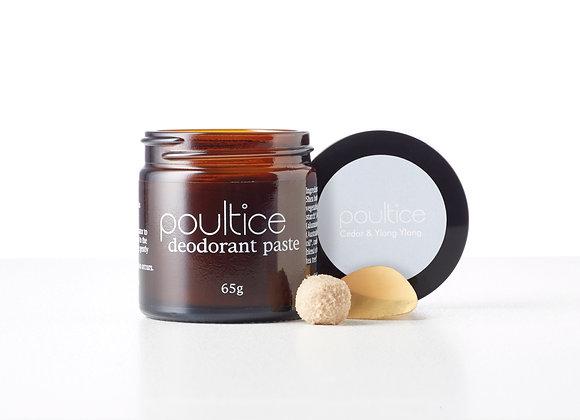 Poultice Natural Australian deodorant - Cedar & Ylang Ylang