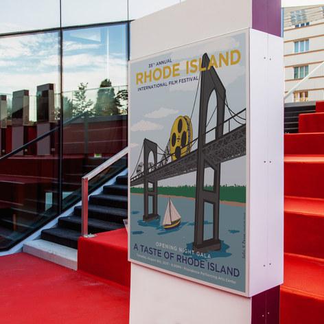 Rhode Island Film Festival Sponsor Poster