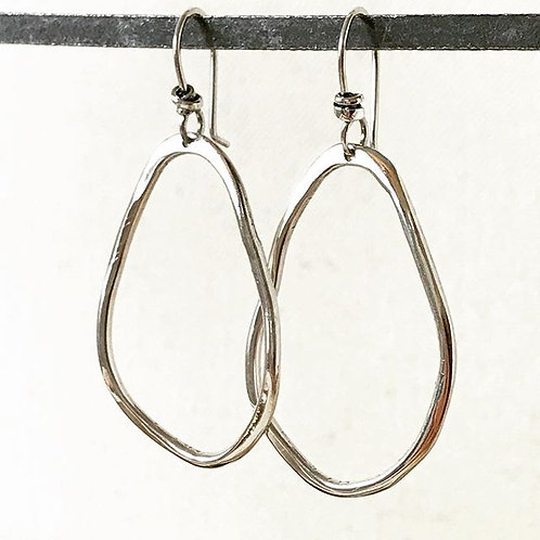Pear Hook Earring