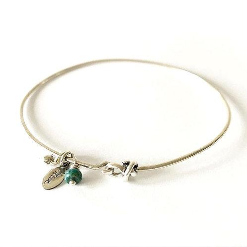 Tiny Charms Turquoise Bracelet