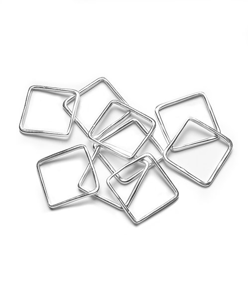 Square Wave Stacking Rings