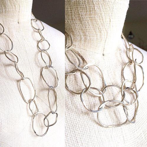 Silver Convertible Necklace