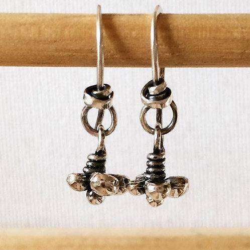 Caviar Hook Earring